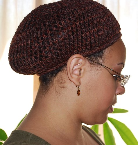 Crochet Hair On Net Cap : Hair net 1