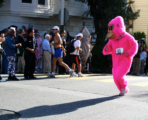 One Pink Gorilla
