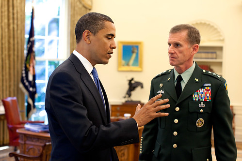 Obama and McChrystal