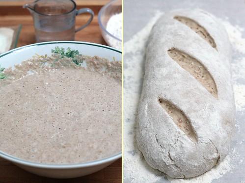 Préparation pain de campagne