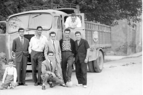 Camió Seddon de TRANSPORTS CARBONELL de Ribes de Fréser (Girona)