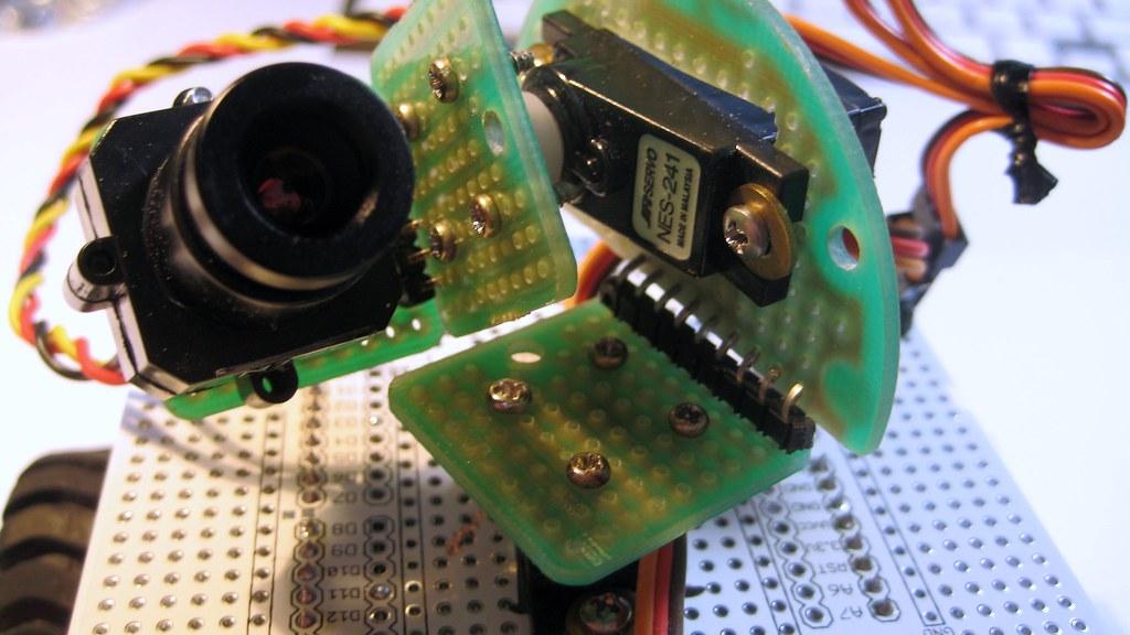 Pan-Tilt Camera Front View