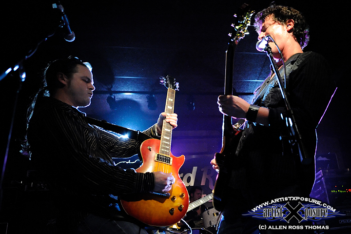 Atlanta's Ledfoot Messiah performs at the Hard Rock Cafe