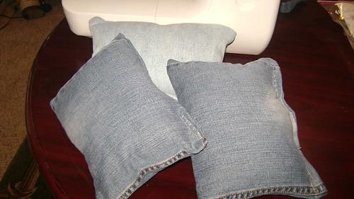 denim pillow - 2
