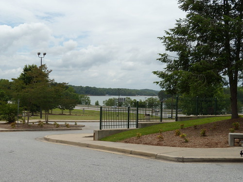 Lake Hartwell from the South Carolina Welcome Center