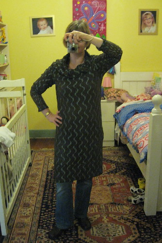 No pattern cowl tunic #1 by you.