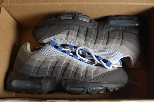1998 Crystal Blue Air Max  95 - a photo on Flickriver 3b39890ee