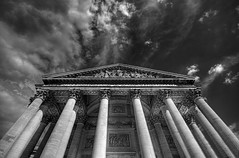 Are the Great men's dreams in Black and White? [Explore] (_ Reboot  __) Tags: blackandwhite paris france pantheon explore bp hdr  75paris explore14 bp17 frankba baladesparisiennes thierryreboton