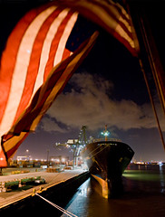 America's Port is Houston (OneEighteen) Tags: port harbor us marine ship flag houston container maritime nautical pilot channel houstonshipchannel americasport