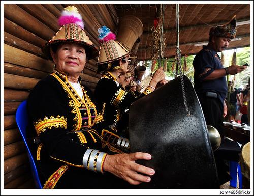 Kaamatan Festival Open House - Rumah Terbuka Kaamatan 2009 Padang Merdeka 1Malaysia - Rumah Papar Kadazan Dusun Murut [ 7 Jun 2009 ]