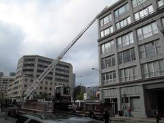Fire @ Second St. & Harrison St. 2 (oaktownjohnnyg) Tags: digitalphotograph dramainreallife