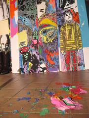 Palacio Sadhu (Loana Ibarra) Tags: street urban color colour detail art painting studio mexico graffiti mix stencil neon artist acrylic grafitti arte sweden sale details konst sverige catchycolor malm catchy detalles ibarra alternative lim suecia frg artista mexiko kont detaljer alternativo detalj aternative loana konstnr alternativt artenativo loanaibarra artenativ vcanvas loanaibarramazari