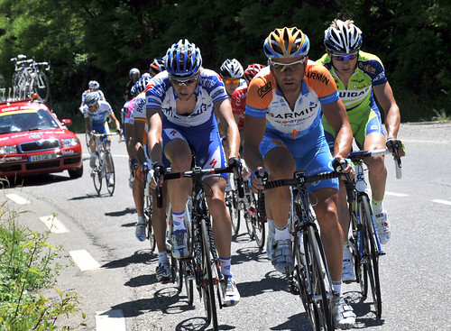 Another strong day for Team Garmin-Slipstream in the Dauphine