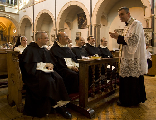 An Oratorian and Dominicans