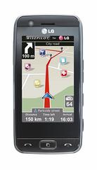 풀터치 네비게이션폰 (LG-GT505, GT500)