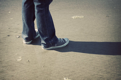 Chucks on the Beach