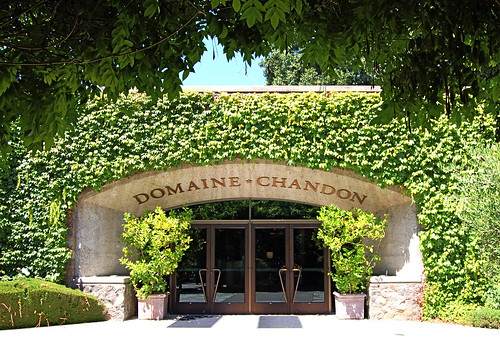 Domaine * Chandon vineyard