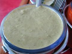 taqueria el rey del taco - salsa verde