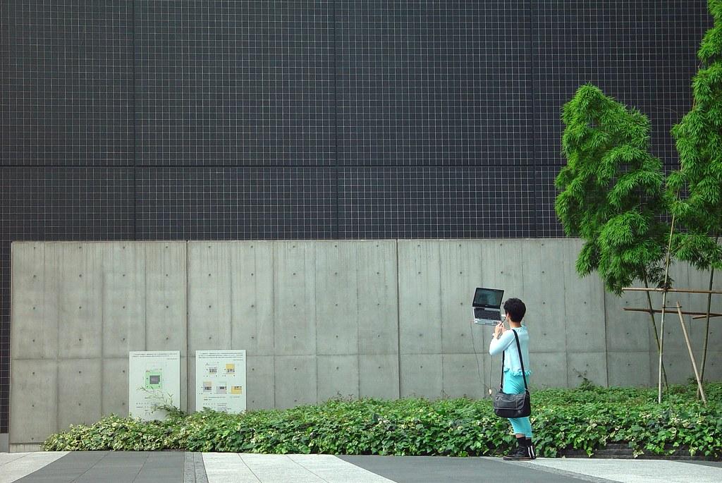 Ustream in Akihabara
