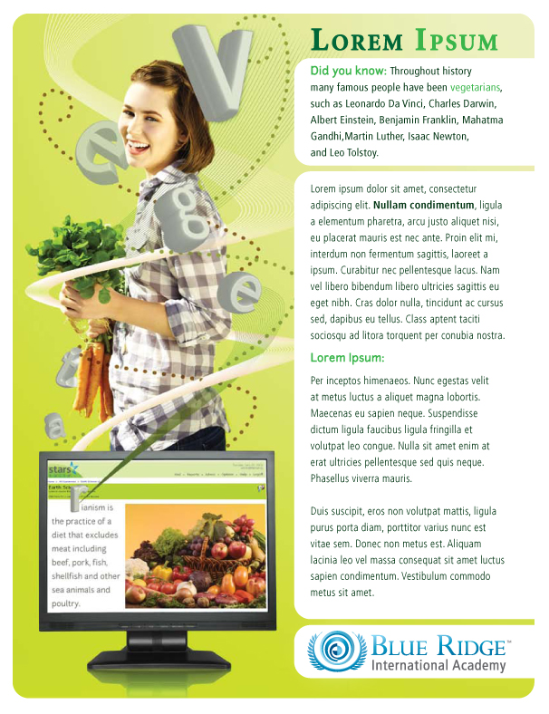 Nutrition Flyer