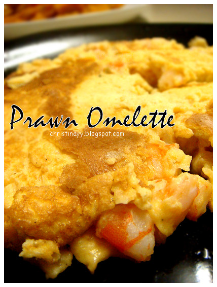 Potluck Sunday: Prawn Omelette