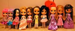 My 10 Blythe Girlies