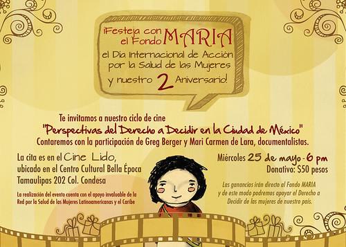 Ciclo de cine de FONDO MARIA