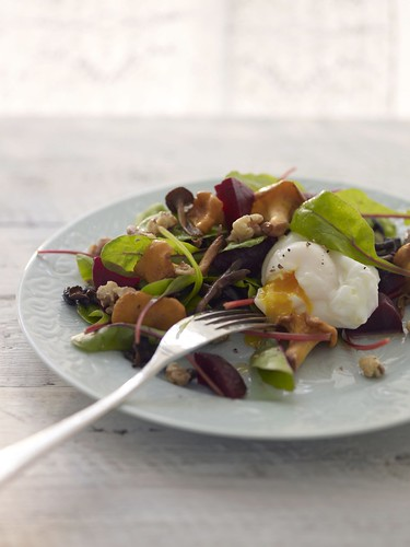 Scandilicious poached egg salad