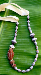 jewellery design (Mzuri beads) Tags: bananaleaf barkcloth cowhorn paperbeads ethicalfashion ribbonnecklace recycledjewelry fairtradejewelry naturalbeads fairtradebeads ugandanbeads ecojewellery ethicalbeads mzuribeads ugandanjewelry kirstiemaclean