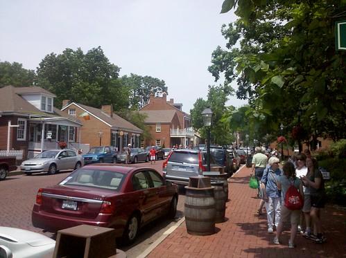 Main Street in St. Charles, MO