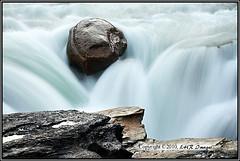 Sunwapta Falls (cnp1009-08-122) (nibi mocs) Tags: canada nature water landscape waterfall alberta rockymountains fallingwater jaspernationalpark canadianrockies sunwaptafalls silkywater
