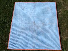 Chenille blanket pre wash
