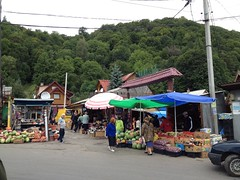 Marktje in Rakhiv
