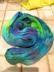 Painted Blues Yarn