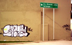 (Gueto ) Tags: brazil brasil graffiti sopaulo pv throwup