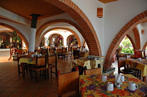 Oldest hotel in Puerto Vallarta, Dining Room, Jalisco