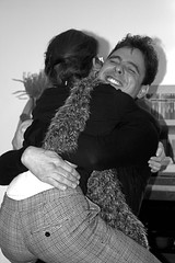 Embrace (Daria Angeli) Tags: portrait people bw embrace blackdiamond otw inspiredbylove