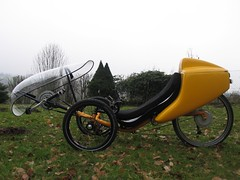 Q-Cycles Troms Travel Trike (Q-Cycles) Tags: handmade case customized trike windshield electrical recumbent troms ebike custommade topcase hpv hardcase etrike liegedreirad qcycles tromstraveltrike