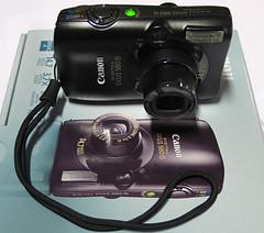 Harry's got a new side-kick! (Harry -[ The Travel ]- Marmot) Tags: camera sidekick canondigitalixus980is