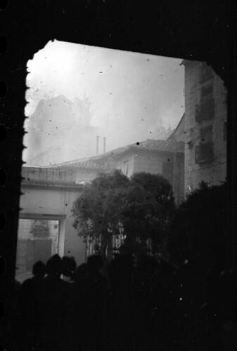 Combates desde el Museo de Santa Cruz de Toledo. Fondo del Estudio Fotográfico Alfonso. Archivo General de la Administración. Ministerio de Cultura