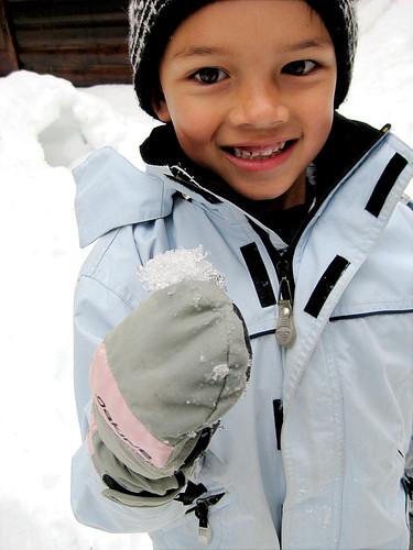 Little Man's snowball
