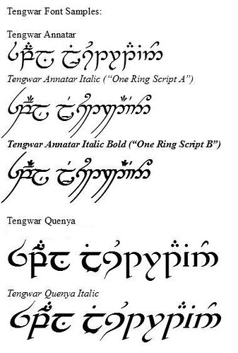 Here are some of the fonts we