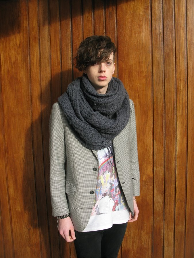 scarf it up london street style