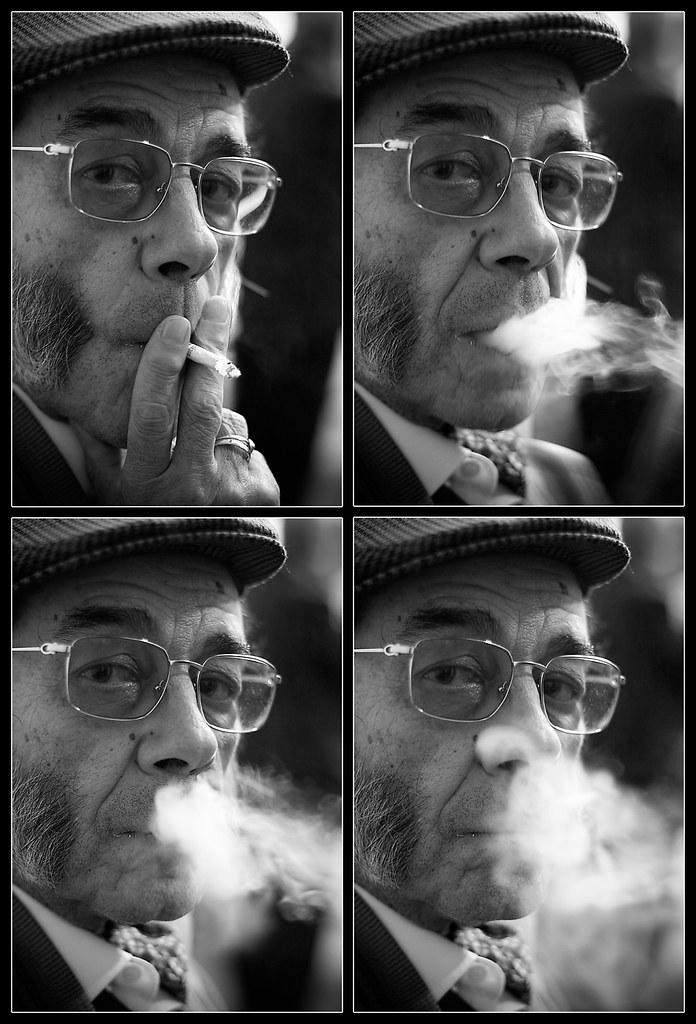 César Palacios. Fumar perjudica gravemente la salud
