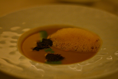Lobster and Salsify Soup with Truffles
