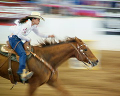 Determination - Barrel Racing - Parada del Sol Rodeo (Al_HikesAZ) Tags: arizona horse southwest sol sports phoenix del lyrics action barrel racing historic parade line full professional explore prca finish western rodeo scottsdale pan cowgirl panning 2009 winning racer finishing gallop parada paradadelsol westworld galloping barrelracing barrelracer   alhikesaz settomusic fullgallop equidome professionalcowboysrodeoassociation 1galleries arizonahighwayscowboys paradadel intphoenix