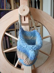 spinning wheel bag