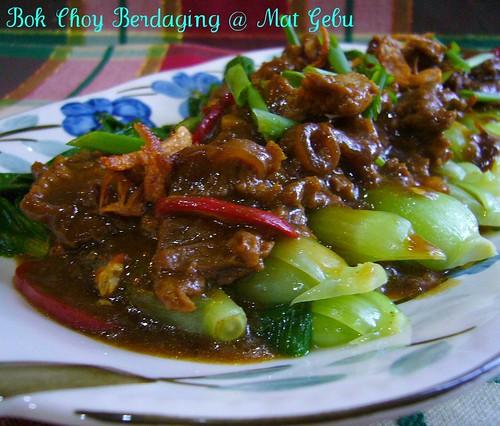 Bok Choy Berdaging