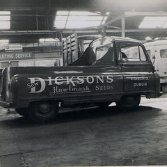 Dicksons Pickup (A Gentleman of Letters) Tags: ireland dublin sign truck work paint kevin craft pickup 1940s gift 1950s 1960s lettering van 1970s dickson craftsman 1980s trade skill livery signpainter signwriting freeney oldtransport agentlemanofletters gentlemanofletters kevinfreeney