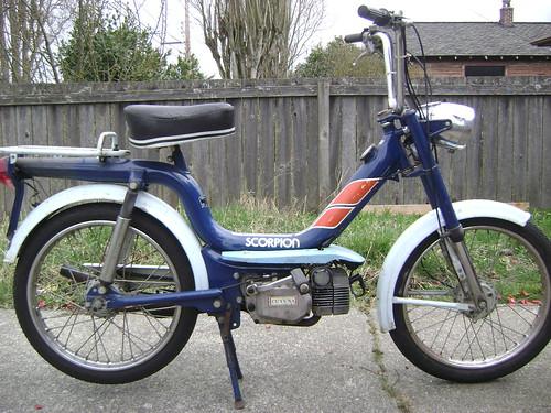 Seattle 1978 Scorpion Moped Army